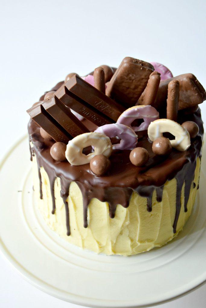 Chocolate Drip Cake Swissybuns